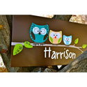 Owl Family Canvas Wall Art