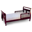 Sleigh Style Toddler Bed