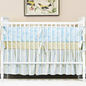 Summer Aqua Crib Bedding
