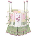 Blooming Flower Round Crib