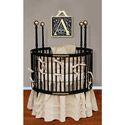 Spindle Splendor Round Crib
