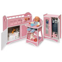 3 Piece Folding Doll Furniture Set