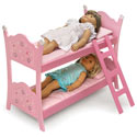Blossoms & Butterflies Doll Bunk Bed
