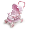 Double Front To Back Doll Stroller