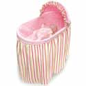 Pink 'n Stripe Embrace Bassinet