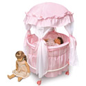 Royal Pavilion Round Doll Crib