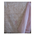 Personalized Shearling Baby Blanket