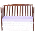 Tiered Crib Dust Ruffle