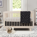 Tuxedo Monochrome 5-Piece Nursery Crib Bedding Set