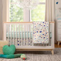 Fleeting Flora Crib Bedding Set
