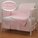 Embroidered Supremacy Crib Bedding