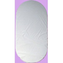 Baby Mattress Bed Pad: Firm Moses Basket Foam Bedding With Waterproof Vinyl Top