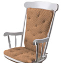 Minky Dot Adult Rocking Chair Cushion