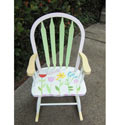 Growing Tulip Rocking Chair
