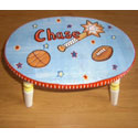 Personalized Sporty Step Stool