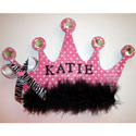 Diva Princess Name Crown