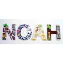 Noah's Jungle Wall Letters