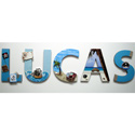 Lucas's Pirate Wall Letters
