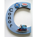 Thomas the Tank Engine 3D Wall Letter