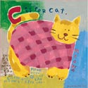 C Is For Cat Stretched Art