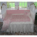 Pink at Play Crib Bedding