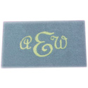 Rectangle Monogram Rug
