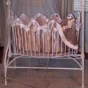 Latte Satin & Minky Cradle Bedding