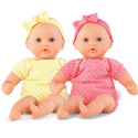 Let's Play Pink and Yellow Twin Baby Dolls