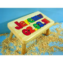 Birthday Name Puzzle Stool