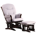 Sleigh Multiposition Recliner Glider