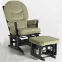 Modern Multi-Position Recliner Glider