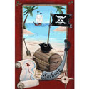 Pirate Treasure Arrr Wall Hanging