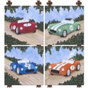Classic Roadster Wall Art Collection