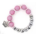 Girls Personalized Beaded Bracelet