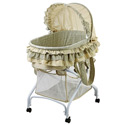 2-in-1 Bassinet to Cradle