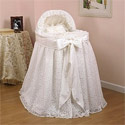 Draped Lace Bassinet