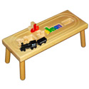 Locomotive Name Puzzle Stool