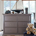 Foothill-Louis 6 Drawer Dresser Changer