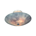 Butterfly Flush Mount Light