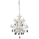 Eleanor Antique White Chandelier