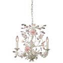 Heritage Three Arm Cream Chandelier