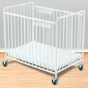 Chelsea Steel Compact Crib