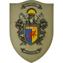 3D Coat of Arms Wall Art
