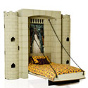 Knights in Shining Armor Castle Wall Bed