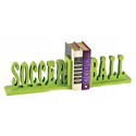 Soccer Ball Bookends
