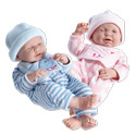Little Birdie Newborn Twin Dolls