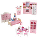 6 in 1 Dollhouse Furniture Set