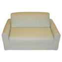 Green Check Child Sofa Sleeper