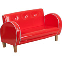 Kids Retro Loveseat
