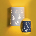 Anchors Away Ceramic Wall Sconce